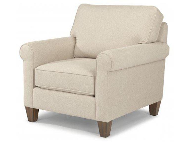 Flexsteel Calvin Fabric Chair 5721 10 Portland Or Key Home