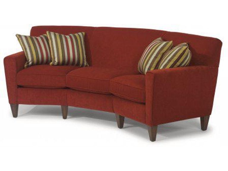 Flexsteel Fabric Conversation Sofa 5966 323 In Portland Oregon