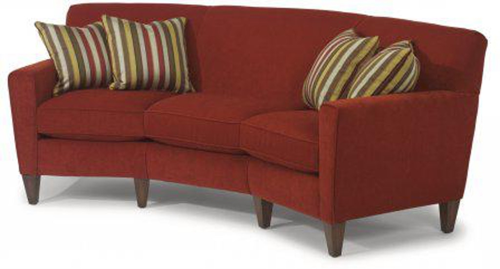 Fine Flexsteel Digby Fabric Conversation Sofa 5966 323 Portland Gmtry Best Dining Table And Chair Ideas Images Gmtryco