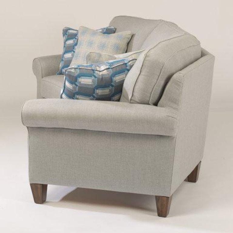 Flexsteel Westside Sofa Reviews: Flexsteel Westside Fabric Conversation Sofa 5979-323