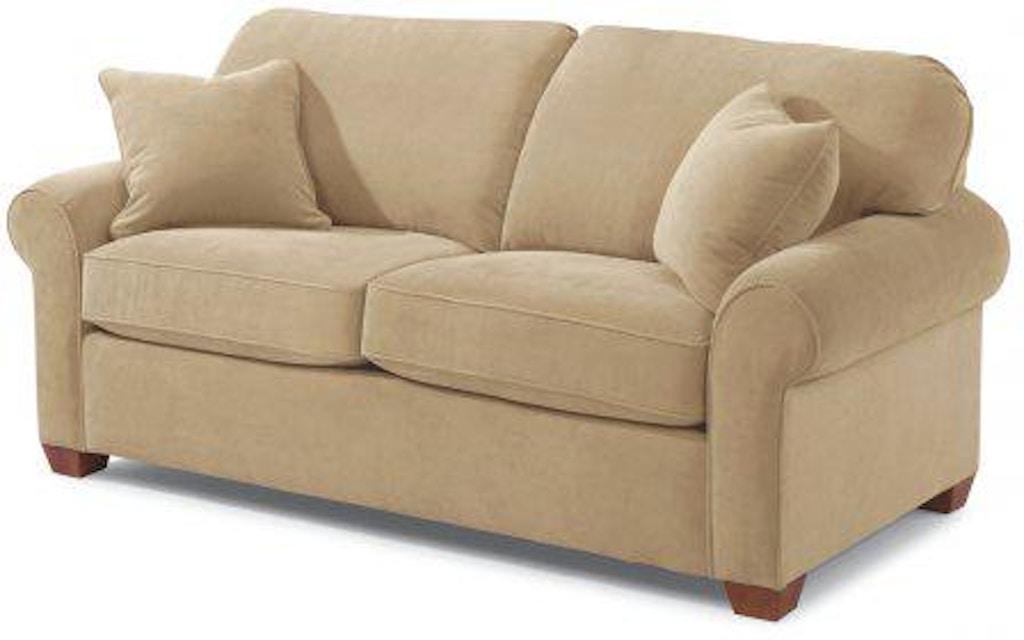 Admirable Flexsteel Thornton Fabric Full Loveseat Sleeper 5535 43 Creativecarmelina Interior Chair Design Creativecarmelinacom