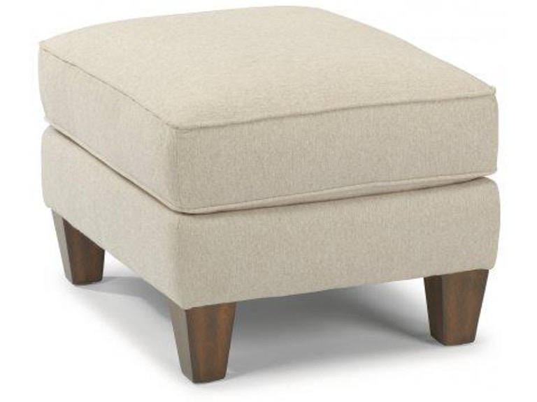 Flexsteel Calvin Fabric Ottoman 5721 08 Portland Or Key Home