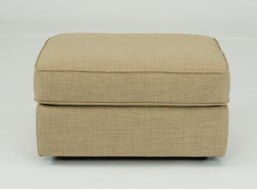 Enjoyable Flexsteel Vail Fabric Ottoman 7305 08 Portland Or Key Evergreenethics Interior Chair Design Evergreenethicsorg