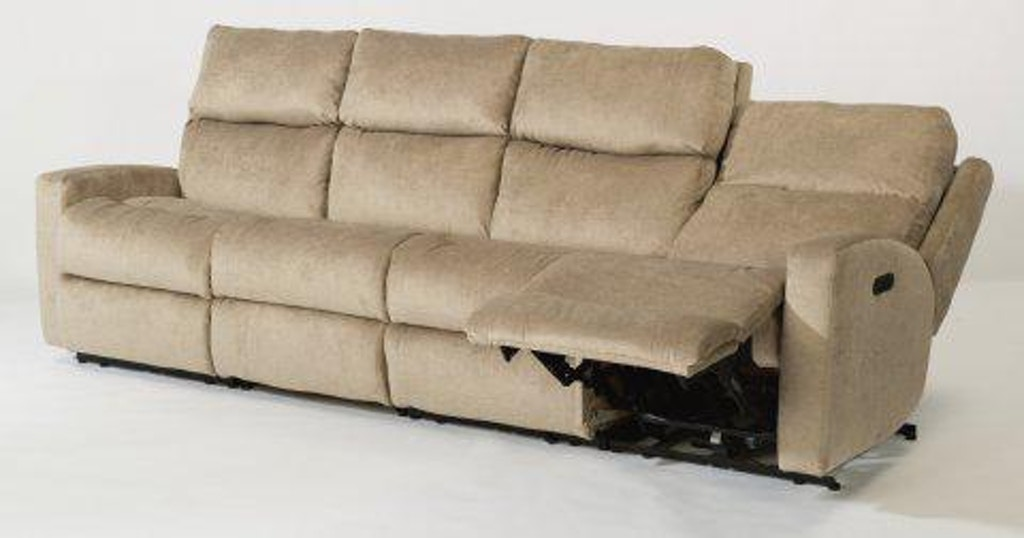 Phenomenal Flexsteel Catalina Fabric Power Reclining Sectional W Power Squirreltailoven Fun Painted Chair Ideas Images Squirreltailovenorg