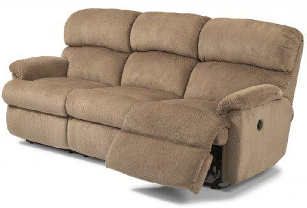 Amazing Flexsteel Chicago Fabric Power Reclining Sofa 7066 62M Caraccident5 Cool Chair Designs And Ideas Caraccident5Info