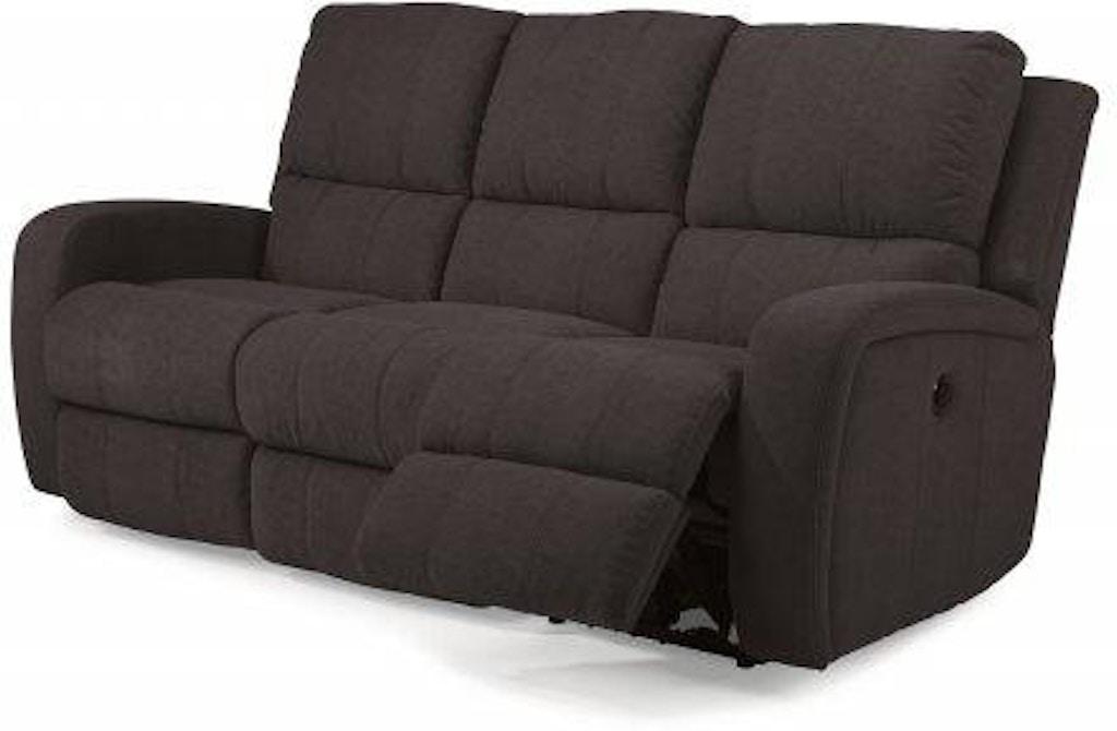 Surprising Flexsteel Hammond Fabric Power Reclining Sofa 1156 62P Unemploymentrelief Wooden Chair Designs For Living Room Unemploymentrelieforg