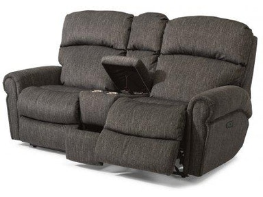Flexsteel Langston Fabric Power Reclining Sofa 4504 62m