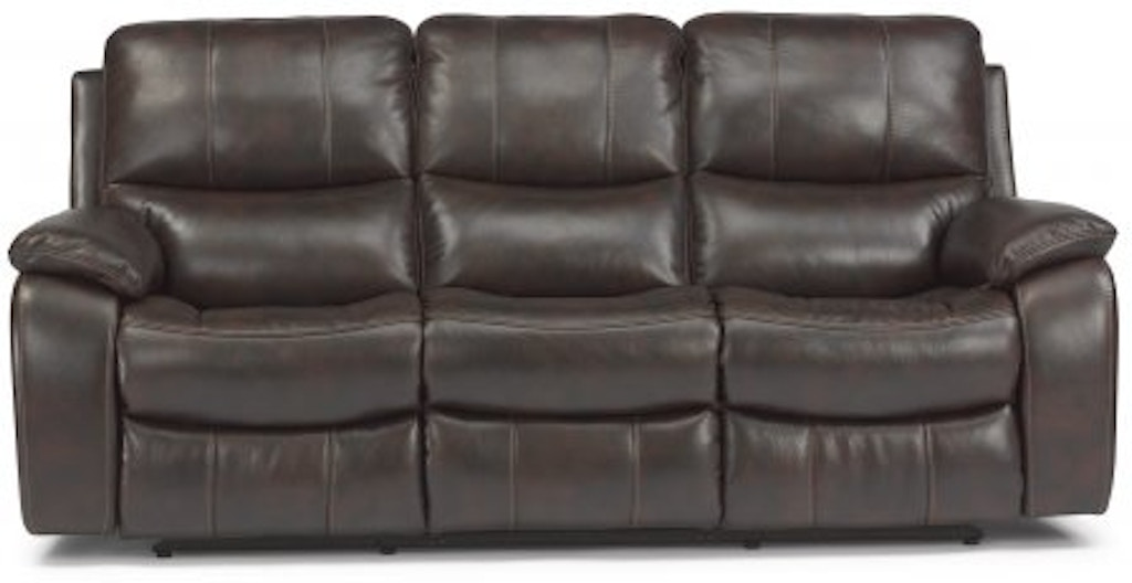 Miraculous Flexsteel Woodstock Fabric Power Reclining Sofa 1298 62P 580 Caraccident5 Cool Chair Designs And Ideas Caraccident5Info