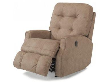 Flexsteel Devon Leather Power Reclining Sofa W Power