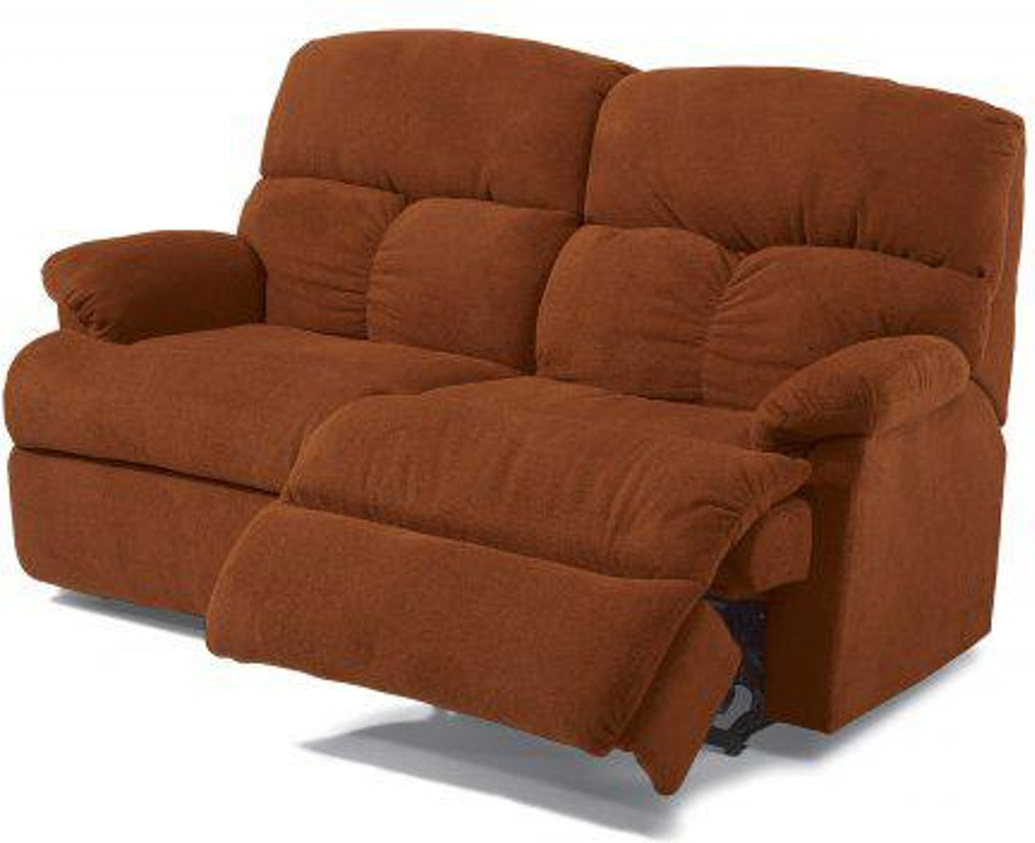 Cool Flexsteel Triton Fabric Reclining Studio Sofa 7098 61 Gmtry Best Dining Table And Chair Ideas Images Gmtryco