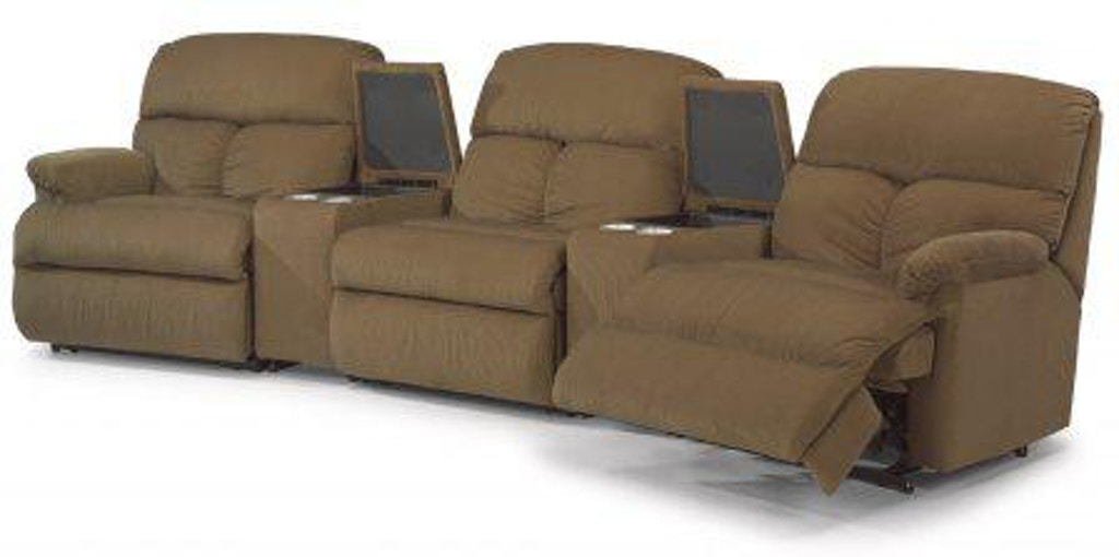Terrific Flexsteel Triton Fabric Reclining Sectional 7098 Sect Gmtry Best Dining Table And Chair Ideas Images Gmtryco