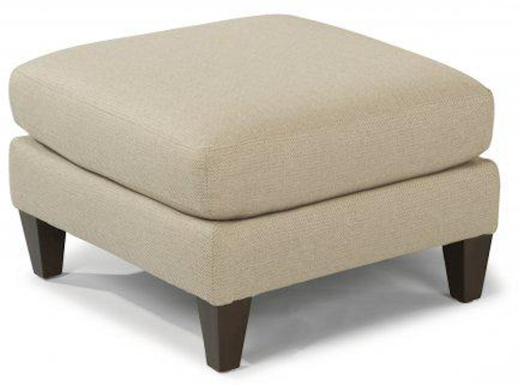 Wondrous Flexsteel River Fabric Square Cocktail Ottoman 7009 092 Squirreltailoven Fun Painted Chair Ideas Images Squirreltailovenorg