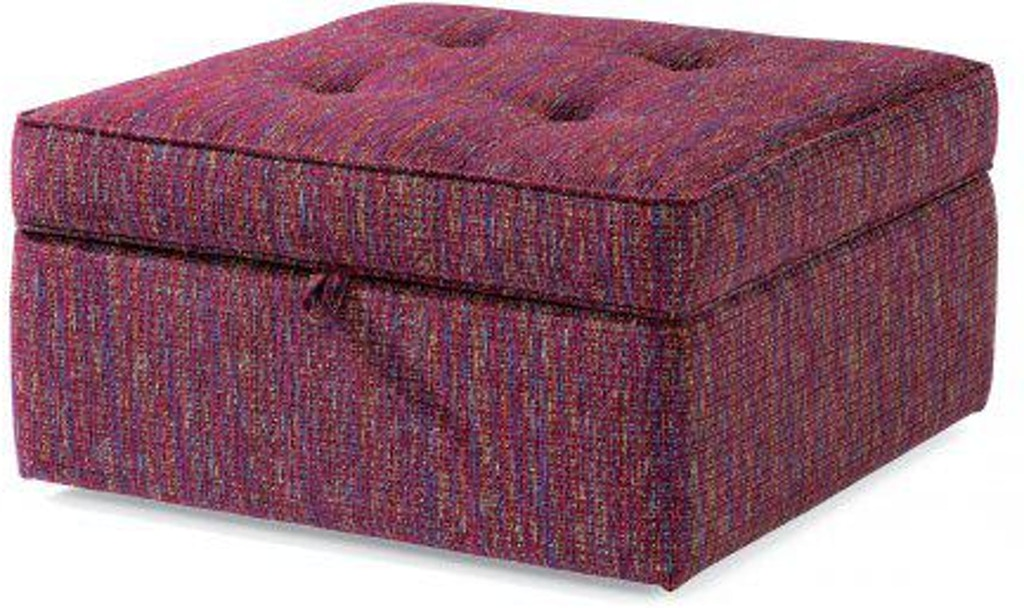 Terrific Flexsteel Daphne Fabric Square Storage Ottoman 7408 092S Unemploymentrelief Wooden Chair Designs For Living Room Unemploymentrelieforg