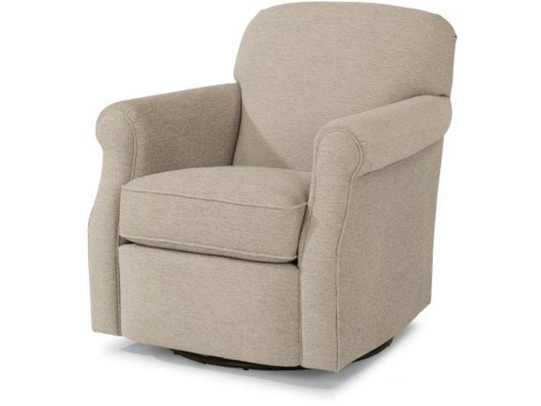 Marvelous Flexsteel Mabel Fabric Swivel Chair 0133 11 Portland Or Theyellowbook Wood Chair Design Ideas Theyellowbookinfo