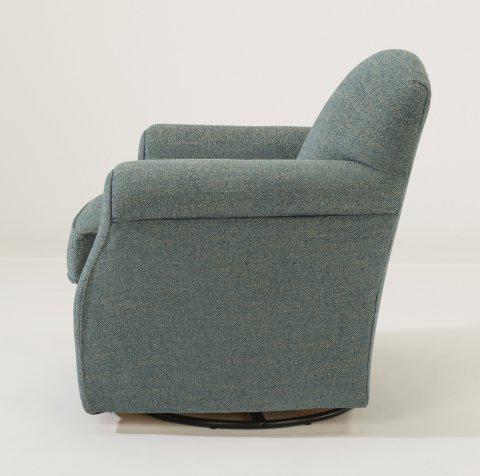 Flexsteel Mabel Fabric Swivel Chair 0133 11 In Portland, Oregon