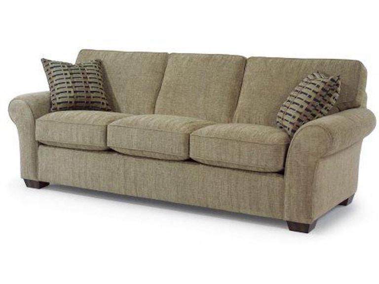 Flexsteel Fabric Three Cushion Sofa 7305 31 In Portland Oregon