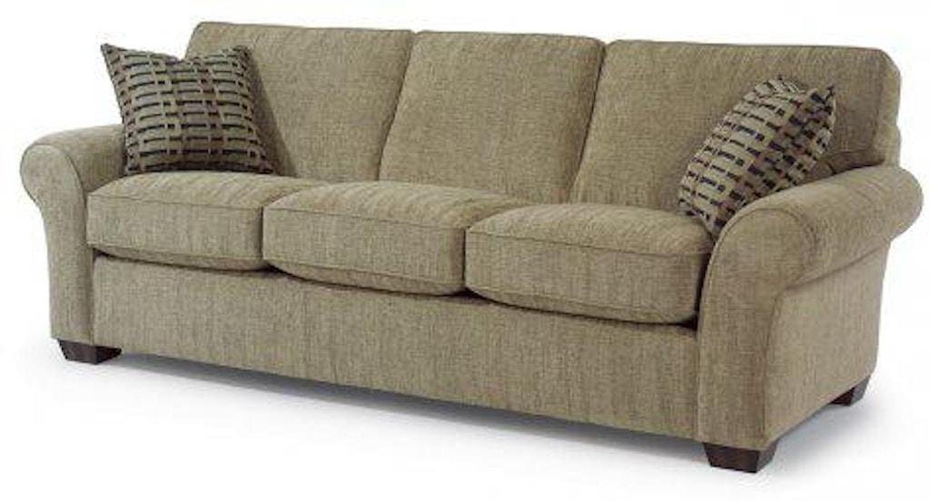 Vail Fabric Three Cushion Sofa 7305 31