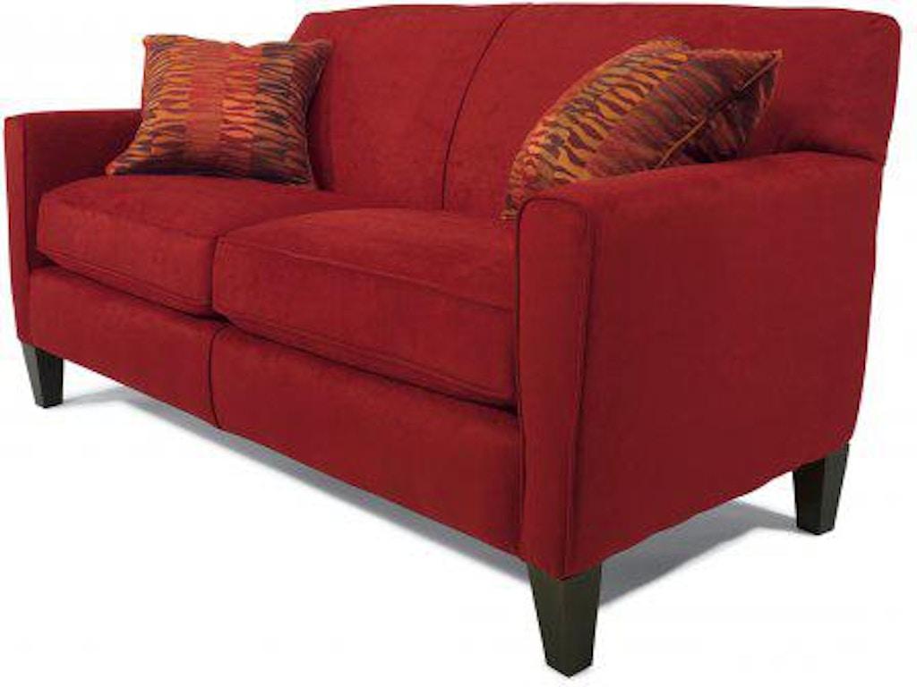 Flexsteel Digby Fabric Two Cushion Sofa 5966 30 Portland