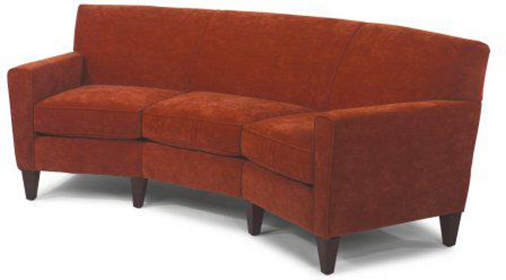 Flexsteel Digby Leather Conversation Sofa 3966-323 ...