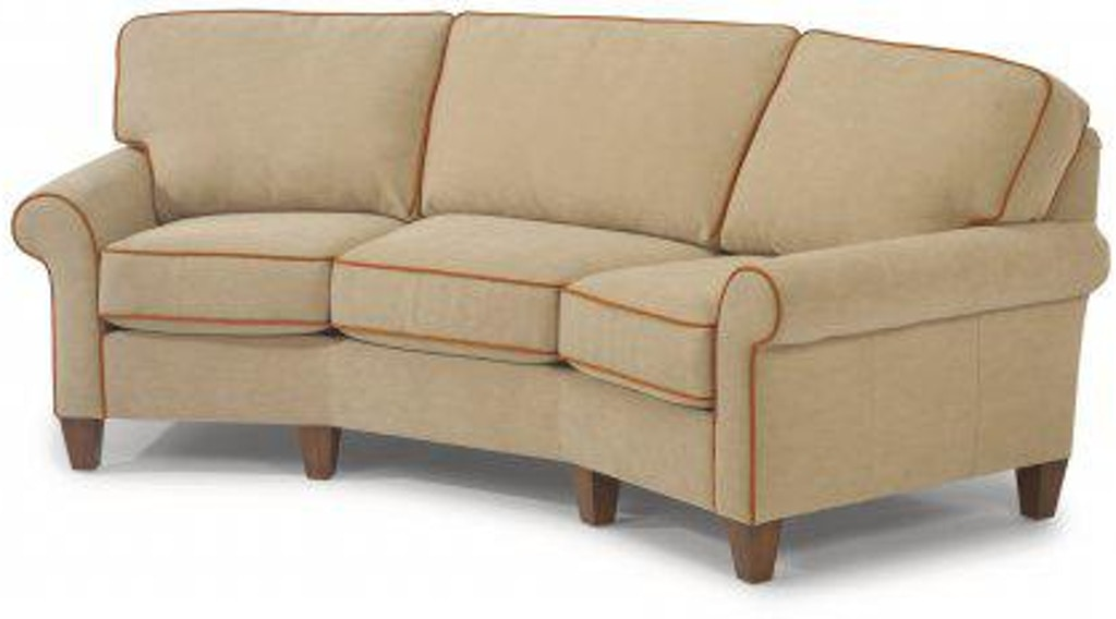 Flexsteel Westside Leather Conversation Sofa 3979-323 ...