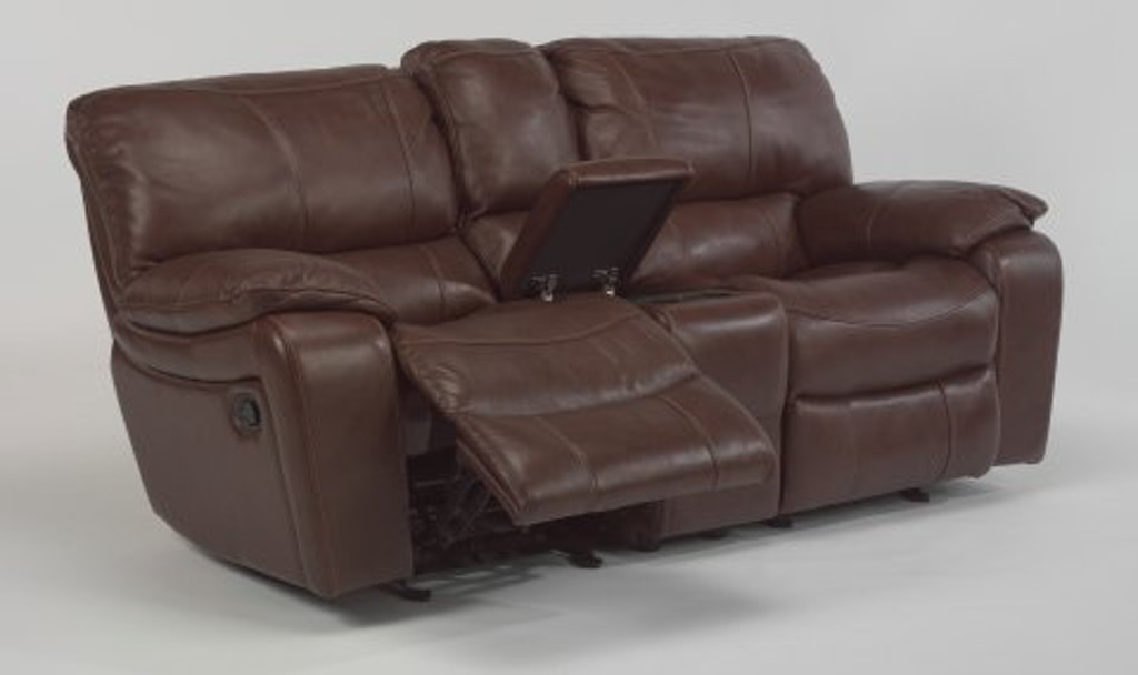 Awe Inspiring Flexsteel Grandview Leather Gliding Reclining Loveseat With Forskolin Free Trial Chair Design Images Forskolin Free Trialorg