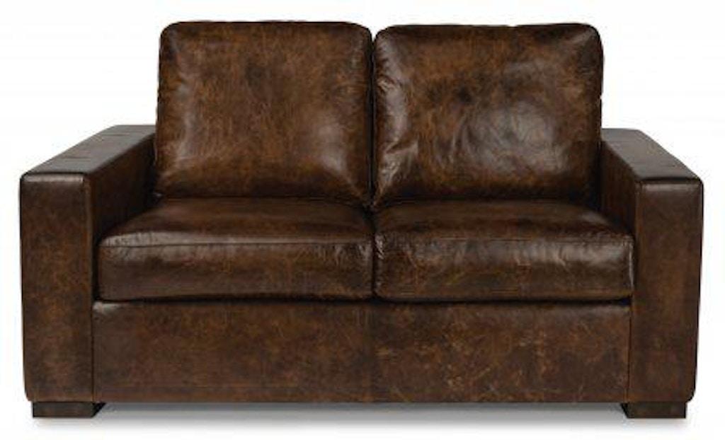 Surprising Flexsteel Prescott Leather Loveseat 1522 20 Portland Or Pdpeps Interior Chair Design Pdpepsorg