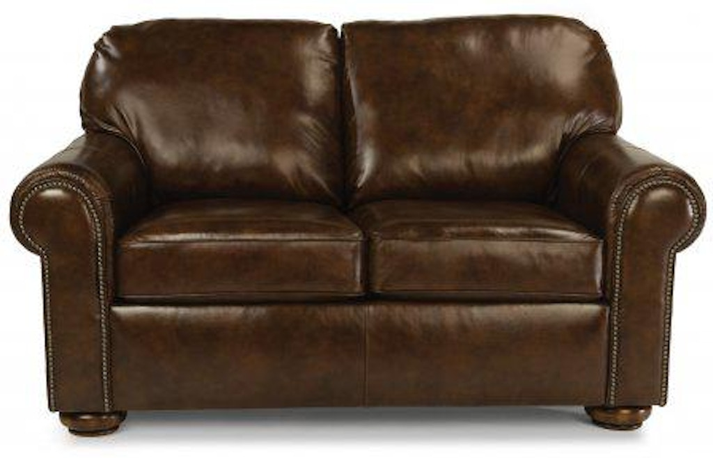 Peachy Flexsteel Preston Leather Loveseat 3536 20 Portland Or Gmtry Best Dining Table And Chair Ideas Images Gmtryco