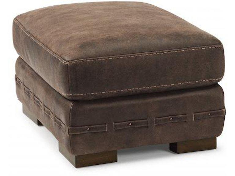 Flexsteel Buxton Leather Ottoman 1117-08 - Portland, OR
