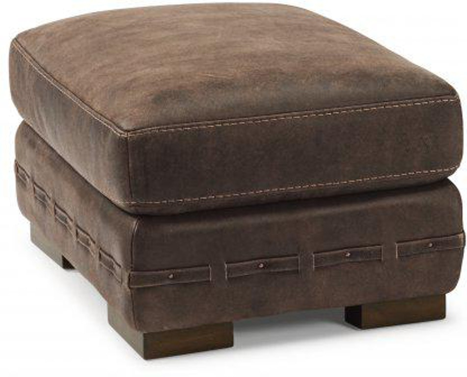 Cool Flexsteel Buxton Leather Ottoman 1117 08 Portland Or Unemploymentrelief Wooden Chair Designs For Living Room Unemploymentrelieforg