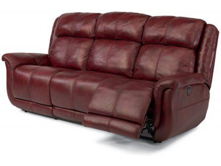 Flexsteel Brookings Leather Power Reclining Sofa 1251-62P - Portland, OR