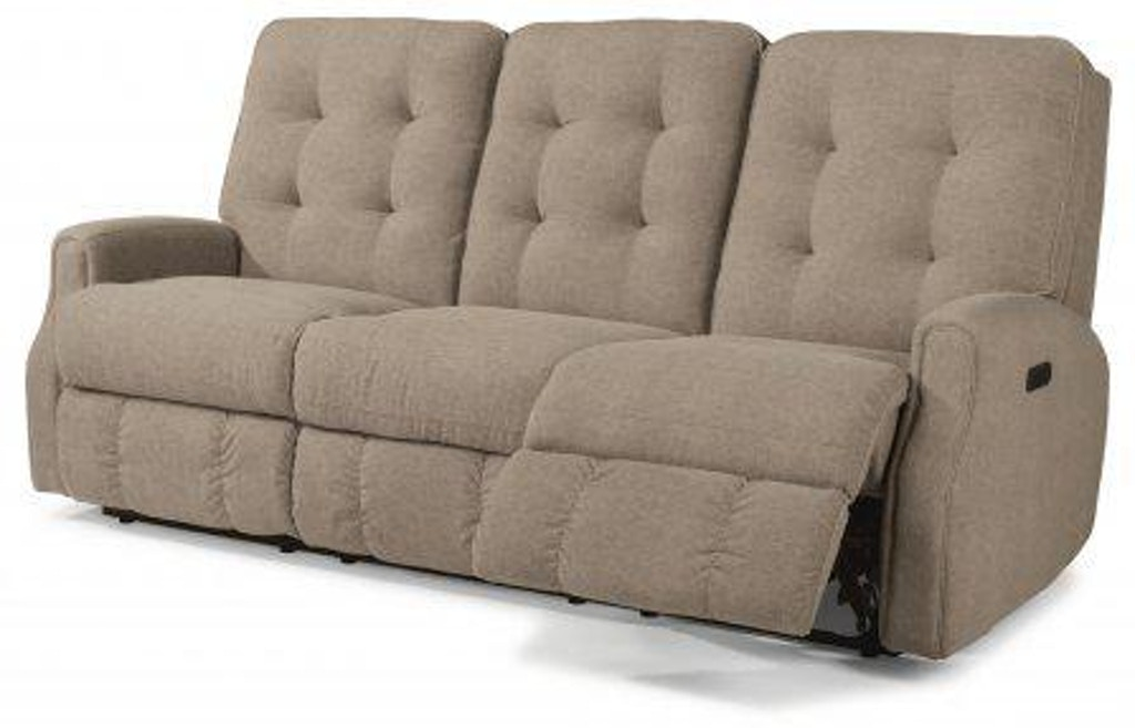 Cool Flexsteel Devon Leather Power Reclining Sofa With Power Squirreltailoven Fun Painted Chair Ideas Images Squirreltailovenorg