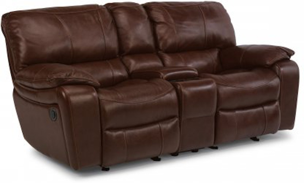 Wondrous Flexsteel Grandview Leather Power Reclining Loveseat With Forskolin Free Trial Chair Design Images Forskolin Free Trialorg