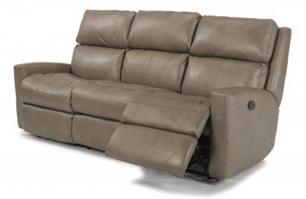 Excellent Flexsteel Catalina Leather Reclining Sofa 3900 62 Portland Inzonedesignstudio Interior Chair Design Inzonedesignstudiocom