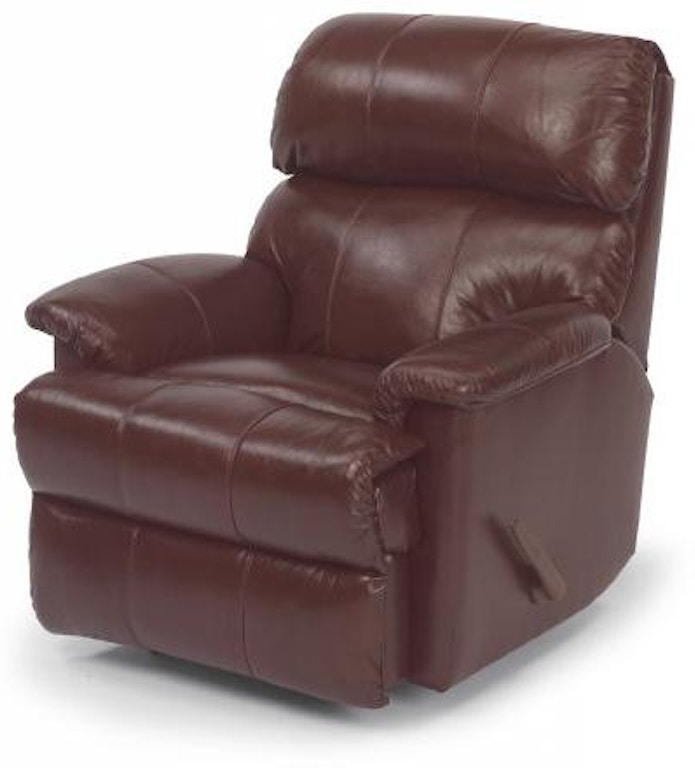 Astounding Flexsteel Chicago Leather Rocking Recliner 3266 510 Caraccident5 Cool Chair Designs And Ideas Caraccident5Info