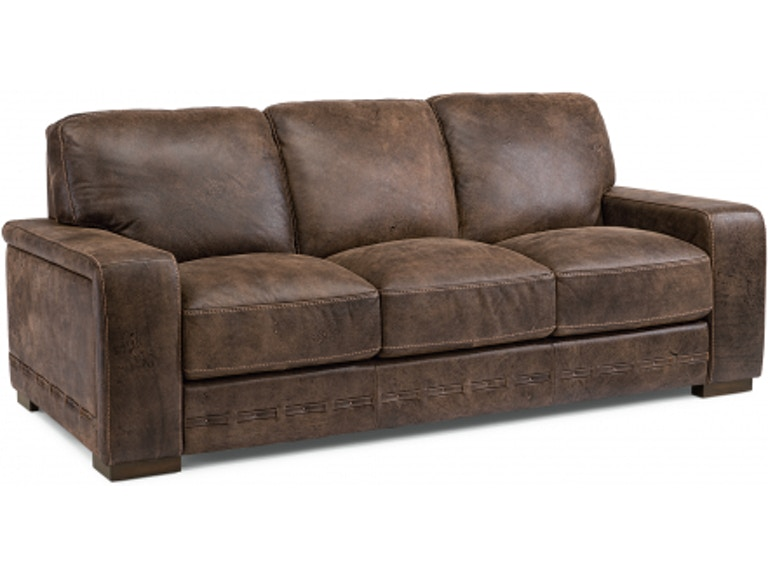 Flexsteel Buxton Leather Sofa 1117-31 - Portland, OR | Key ...