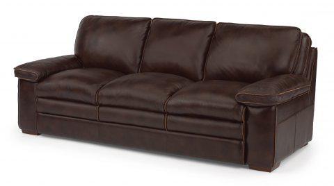flexsteel penthouse leather sofa 1774 31 portland or key home rh keyhomefurnishings com Flexsteel Leather Colors Flexsteel Power Reclining Leather Sofa