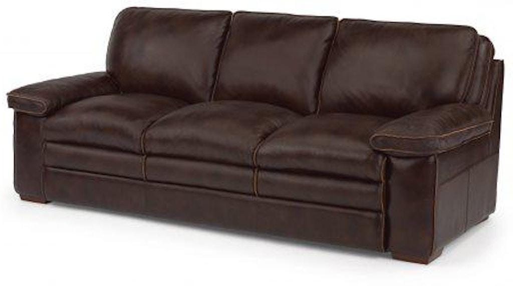 Flexsteel Penthouse Leather Sofa 1774-31 - Portland, OR ...