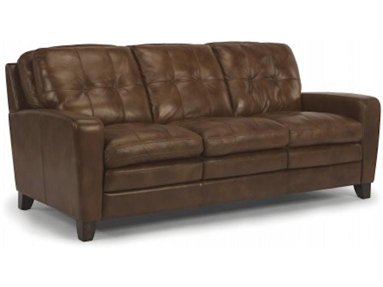 Flexsteel South Leather Sofa 1644 31 014 75 In Portland Oregon