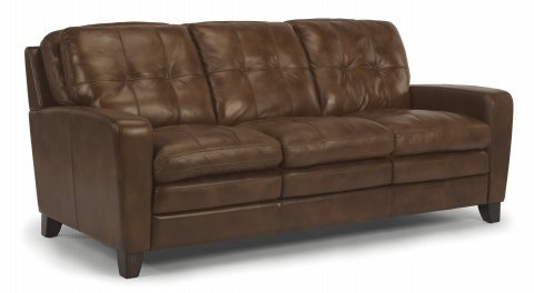 Perfect Flexsteel South Leather Sofa 1644 31 014 75 In Portland, Oregon