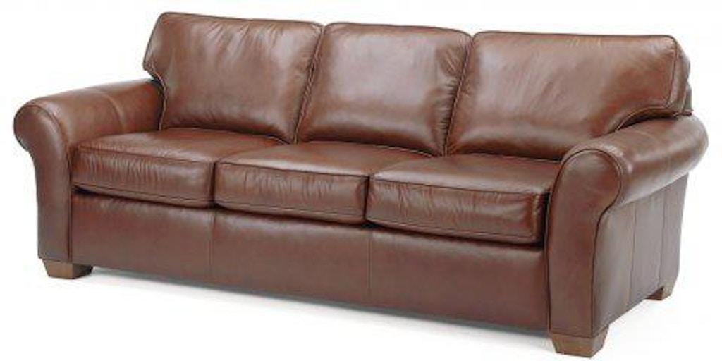 Leather Three Cushion Sofa 3305 31