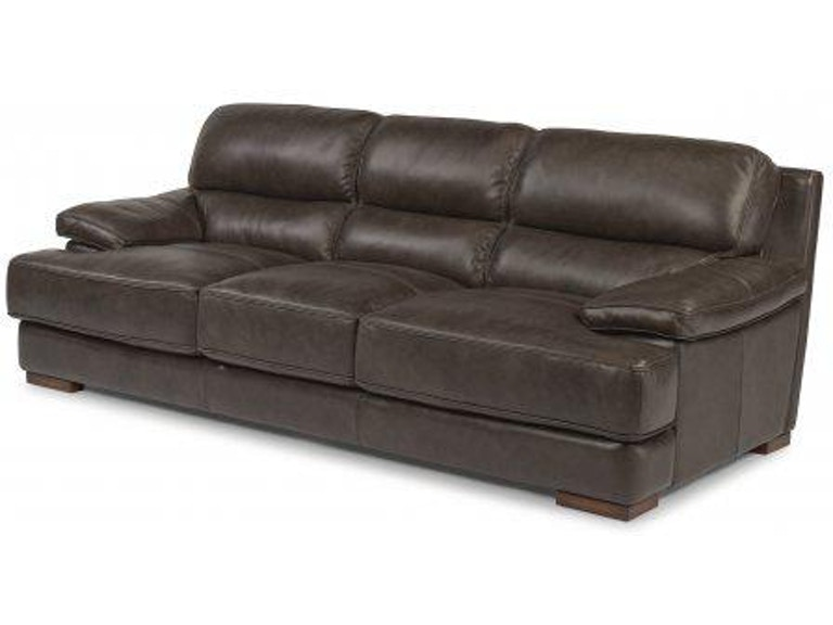 Flexsteel Jade Leather Sofa 1113 31 Portland Or Key Home