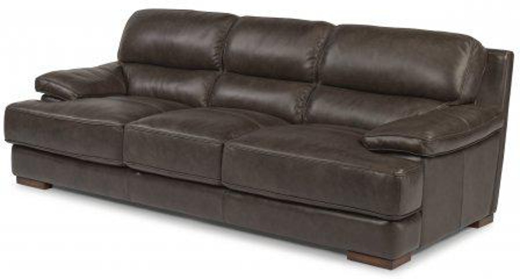 Flexsteel Jade Leather Sofa 1113-31 - Portland, OR | Key ...