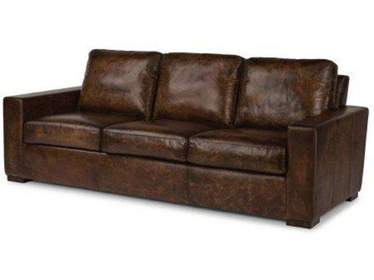 Flexsteel Prescott Leather Sofa 1522-31 - Portland, OR | Key Home ...