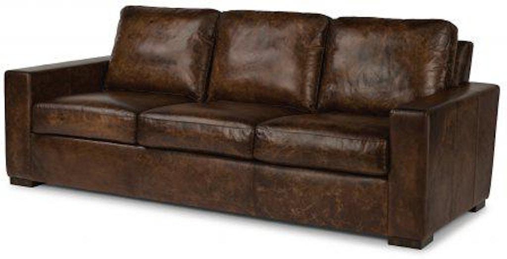Flexsteel Leather Sofa 1522 31 In Portland Oregon