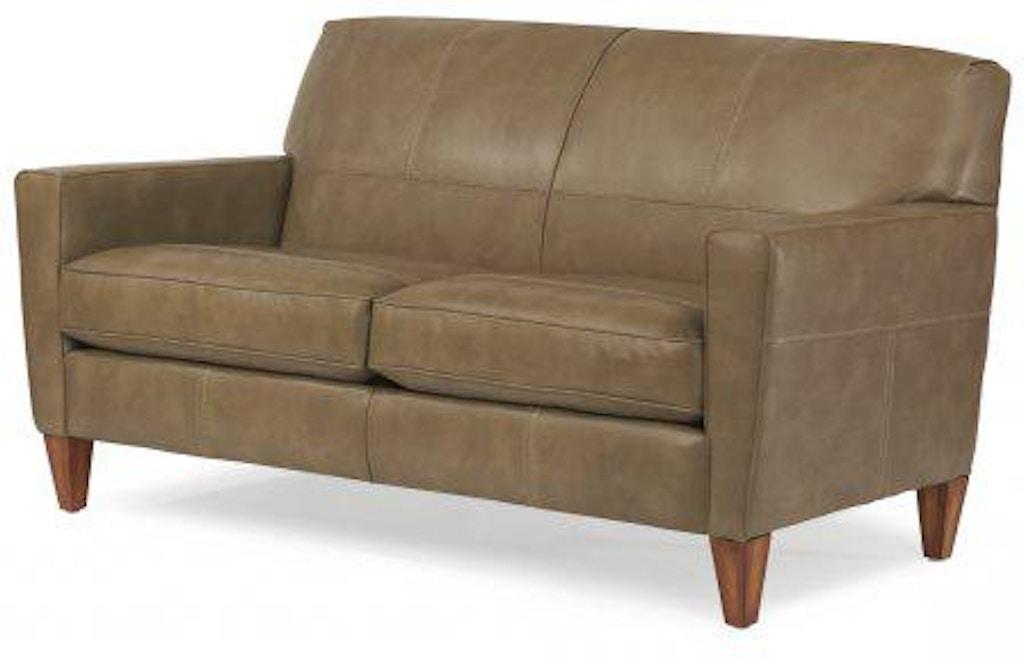 Flexsteel Digby Nuvo Two Cushion Sofa