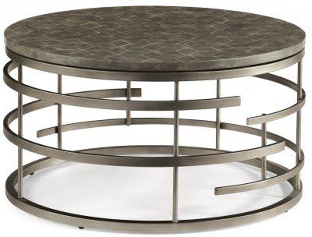 Flexsteel Halo Round Coffee Table W1454 034 Portland Or Key