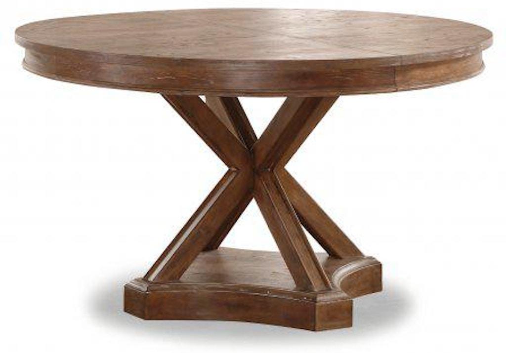 Flexsteel Hampton Round Dining Table W1148 834 Portland Or Key Home Furnishings