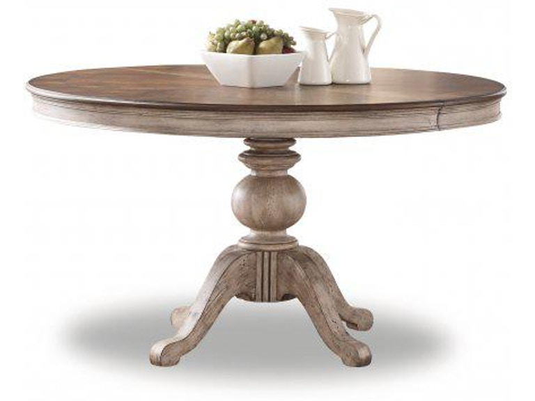 Flexsteel Plymouth Round Pedestal Dining Table W1147 834