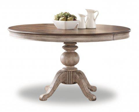 Flexsteel Plymouth Round Pedestal Dining Table W1147 834 In Portland, Oregon