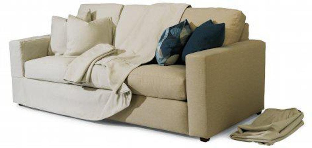 Flexsteel Meadow Three Cushion Sofa